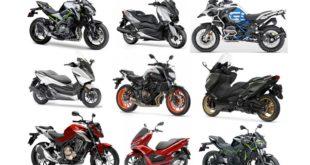 Top 50 meilleures ventes moto et scooter mai 2020
