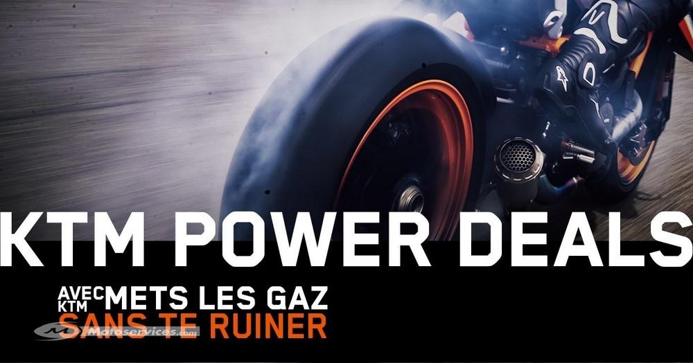 KTM Power Deals : des promos pour reprendre la route