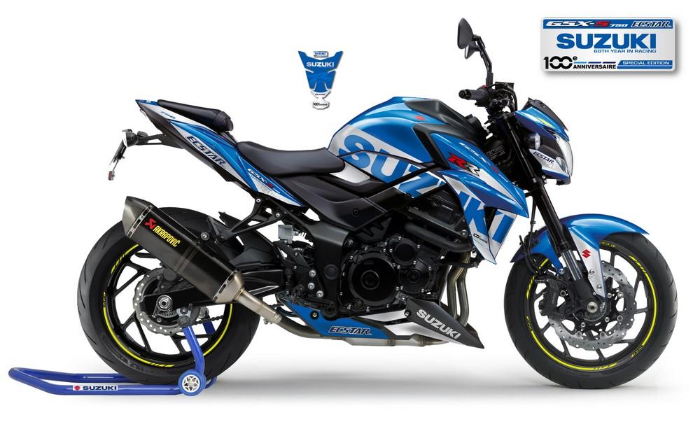 Une version MotoGP pour la Suzuki GSX-S 750