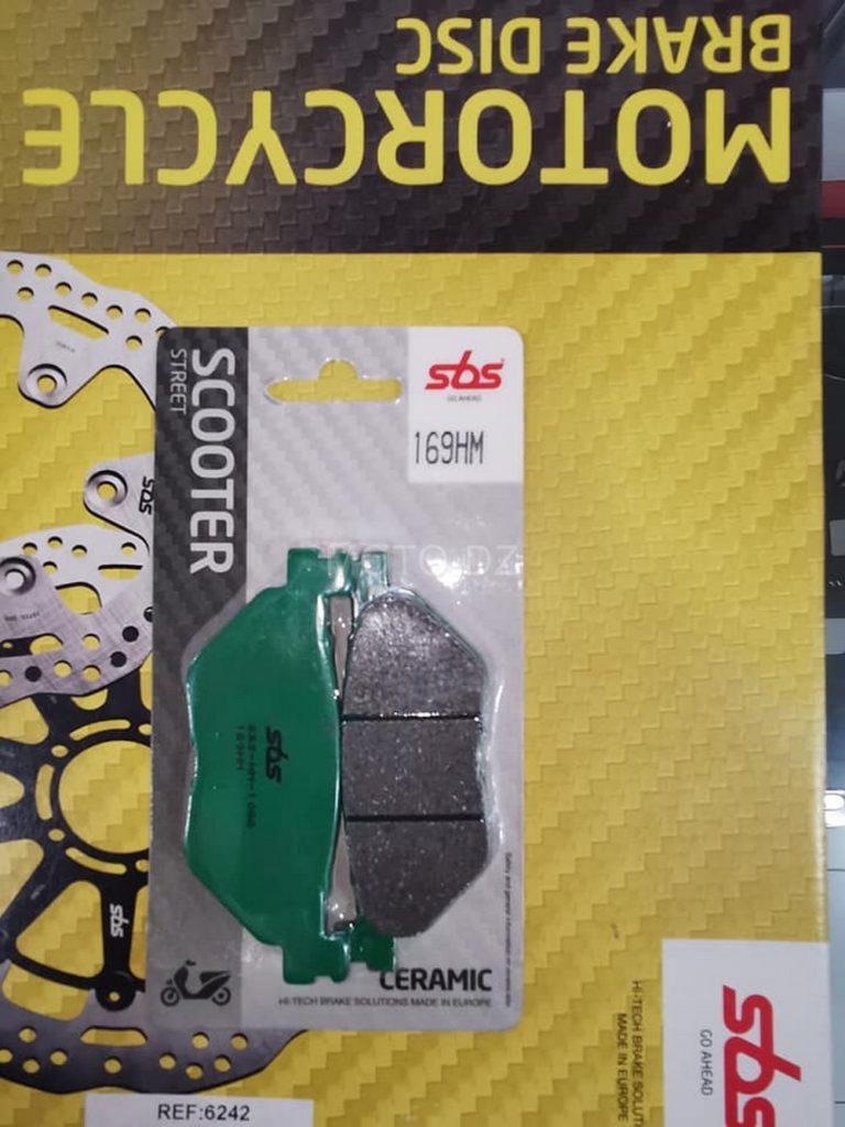 SBS Algérie : Arrivage plaquettes / disques pour Yamaha TMAX 560