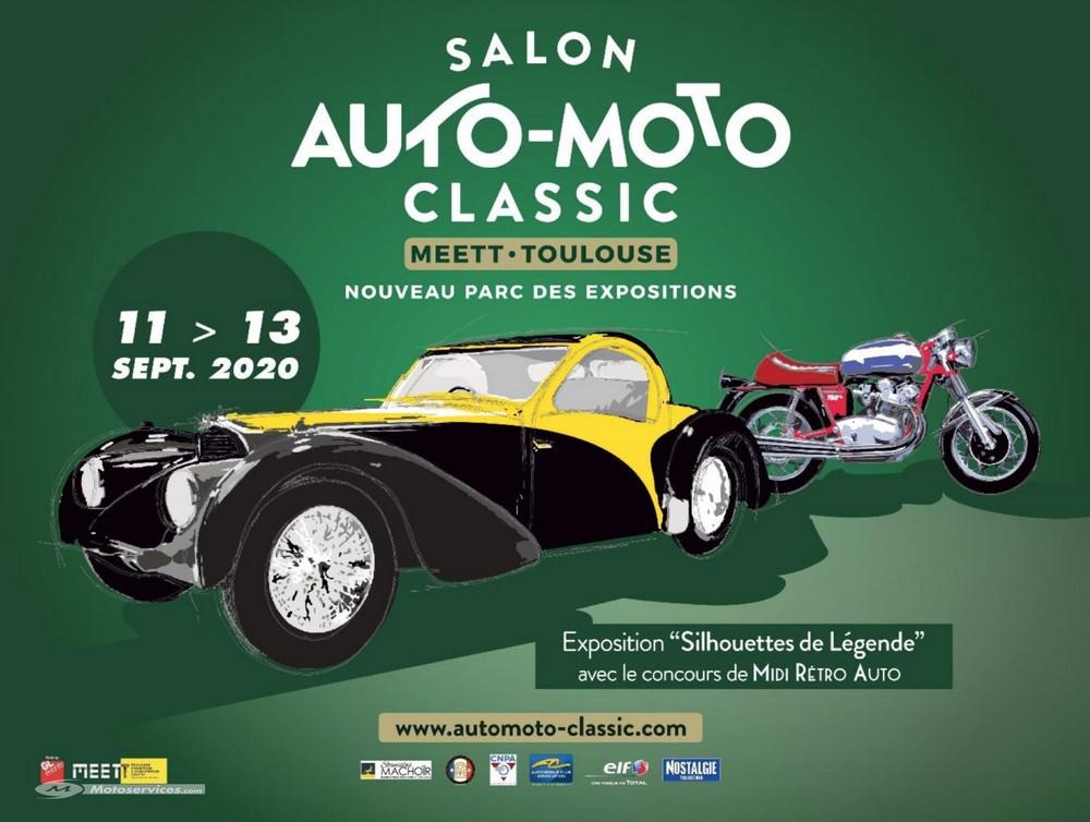 Salon Auto-Moto-Classic à Toulouse du 11 au 13 septembre
