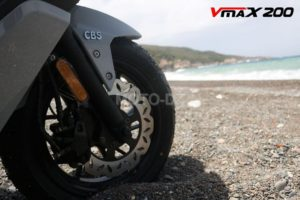 VMS INDUSTRIE lance son Scooter GT Sport, le VMS VMAX 200 CBS