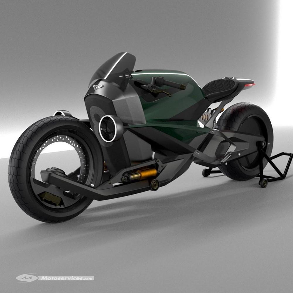 Et si Bentley se mettait à la moto électrique ?