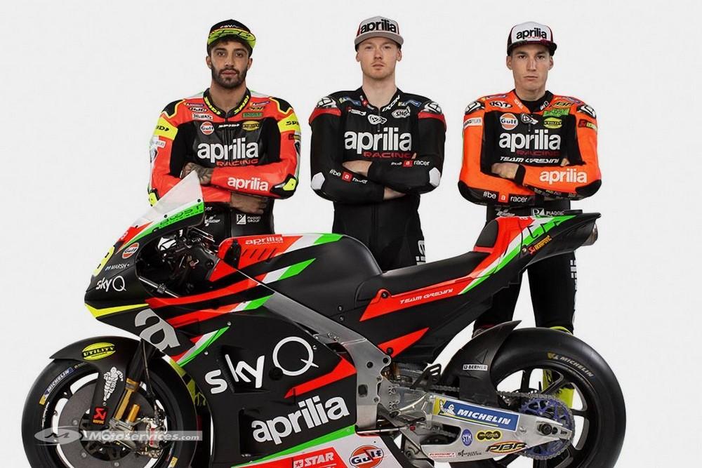 MotoGP 2020 : Chez Aprilia, Bradley Smith