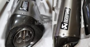 Akrapovic Algérie : Pot Slip-On Line Titanium BMW C400 X/GT disponible !