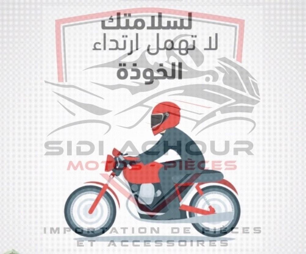 """Prévention / Sécurité : Sidi Achour Motos Pièces lance une opération """"Casque"""""""