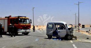 Accidents de la circulation : 22 morts et 1229 blessés
