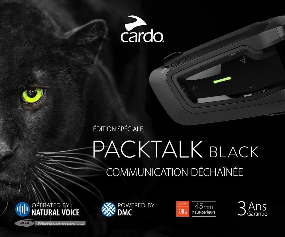 Cardo Pack Talk Black : le must de l'intercom moto ?