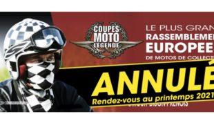 Coupes Moto Légende : définitivement annulées