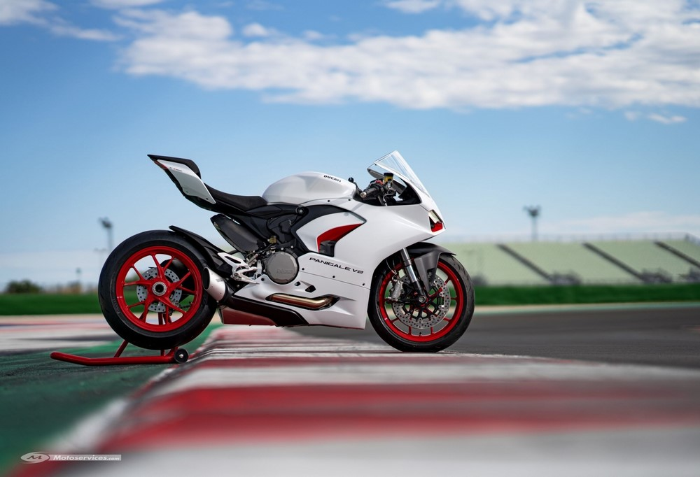 Un nouveau coloris pour la Ducati Panigale V2