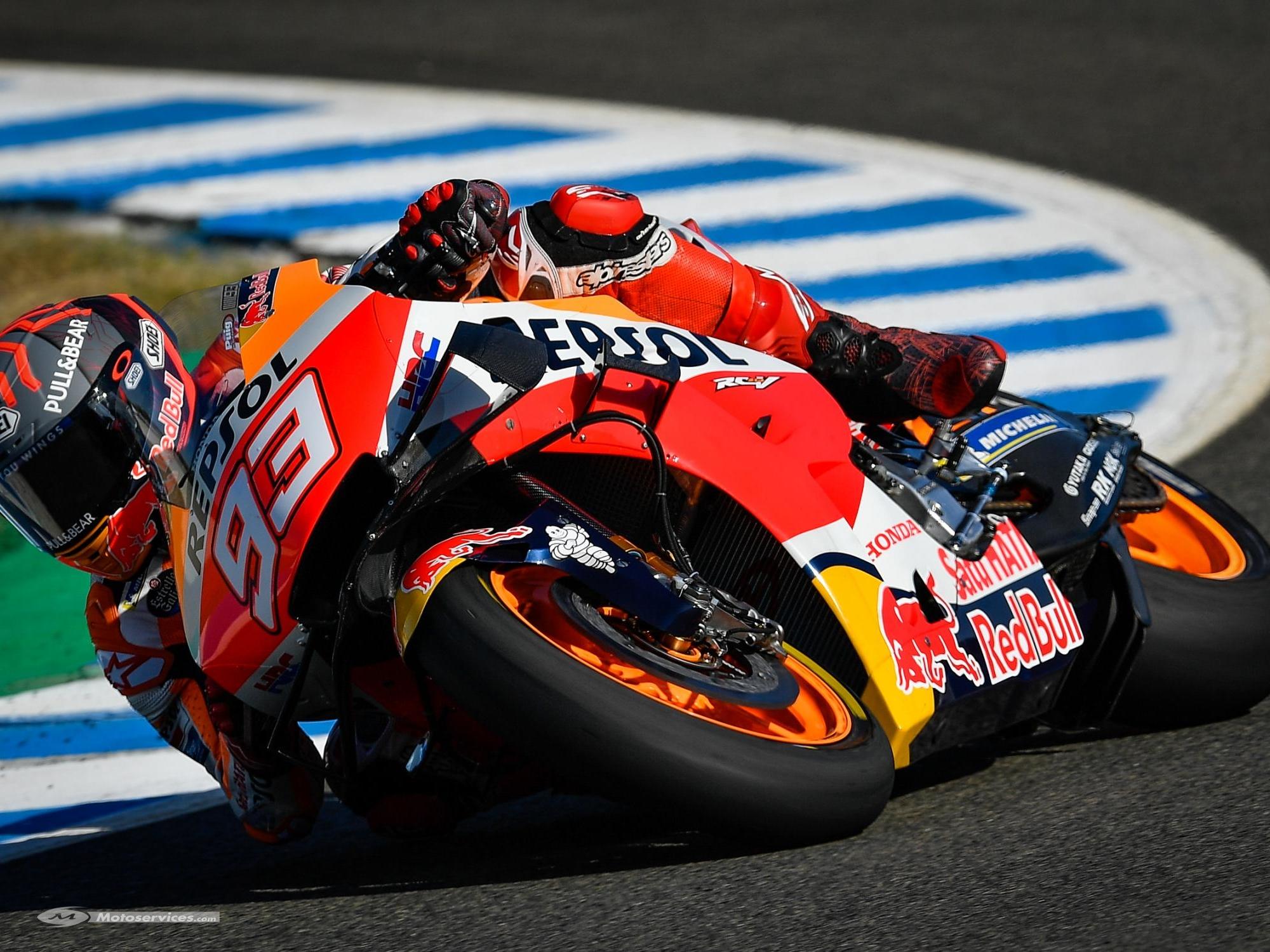 MotoGP 2020 : GP de Jerez, vendredi pour Marquez