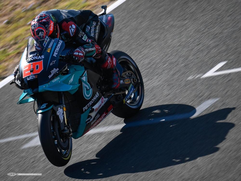 MotoGP d'Andalousie 2020 : Quartararo en pole ! Yamaha a l'honneur …