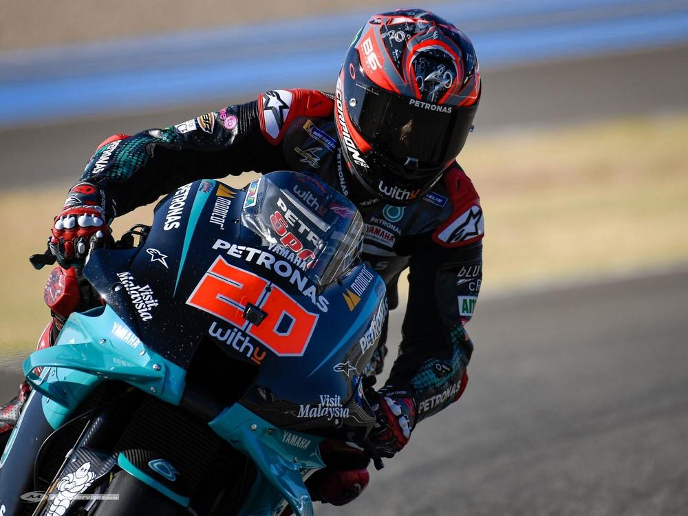 MotoGP 2020 : Quartararo sublime vainqueur du GP d'Andalousie. Rossi podium.
