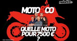 Quelle moto pour 7500 € max ?