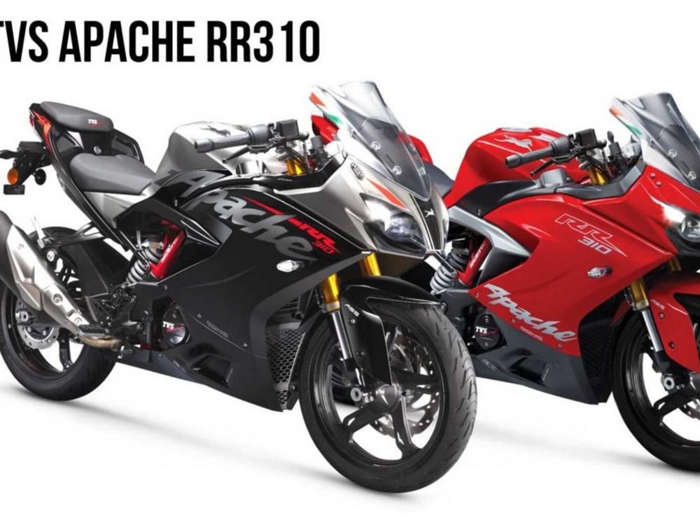 Voici la nouvelle TVS Apache RR 310