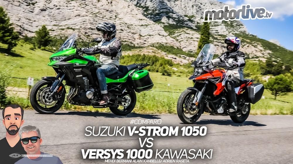 V-Strom 1050 vs Versys 1000