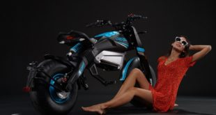 Moto électrique Velocifero Beach Mad