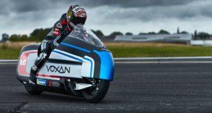 La Voxan Wattman vise des records de vitesse