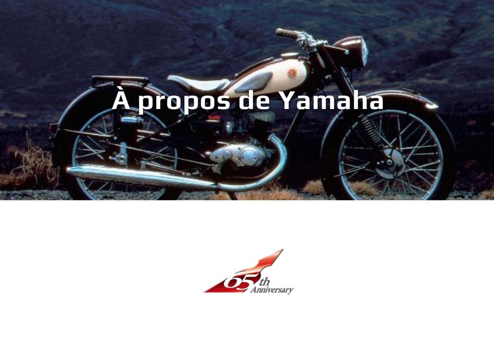 Yamaha fête ses 65 ans