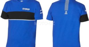 "Idée Shopping : le T-shirt à manches courtes ""Yamaha Collection Paddock Blue"""
