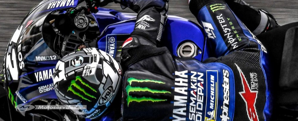 MotoGP d'Andalousie en essais vendredi pour Vinales/Rossi … Zarco meilleur pilote Ducati (deuxième temps) l'après midi.