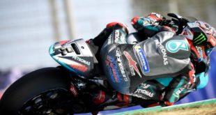 MotoGP 2020 à Jerez : Pole et double record du circuit pour Quartararo !